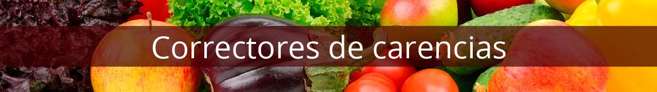 CORRECTORES DE CARENCIAS